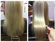 Красота волос Ботокс коротких волос - от 1500 руб. Ботокс средних волос - от 200