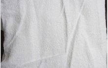 Большое махровое белое банное полотенце: 160х150 см
