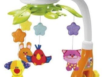 Электронный мобиль Winfun , Особенности:Разноцветные игрушки вращаются под приятные мелодииВозможна проекция света в цветах: желтым, синим, зеленым и многоцветной в Волхове