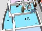 Уникальное фотографию Квартиры в новостройках однокомнатную квартиру в новостройке, ул, Миронова 45 32406750 в Воронеже