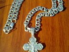 Скачать foto Ювелирные изделия и украшения Серебряная цепочка с крестиком 33065099 в Воронеже