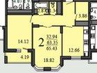 Изображение в Недвижимость Продажа квартир Продаю 2-комнатную квартиру в ЖК Сердце в Воронеже 3750000