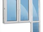 Фото в Строительство и ремонт Двери, окна, балконы Продам балконный блок (дверь с окном) , дверь в Воронеже 7400