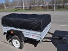 Уникальное изображение  Продам новый прицеп для легкового автомобиля кремень+ (КРД 101) в воронеже 37759252 в Воронеже