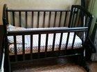 Детская кроватка   матрас отдельно