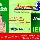 Курсы английского Языка Awesome в Малайзии