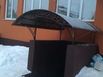 Свежее изображение  Навесы, заборы, ворота,лестницы, 62805757 в Воронеже
