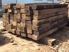 Фото в Строительство и ремонт Разное Реализация деревянных шпал, шпалы б. у. , в Зарайске 10