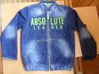 Уникальное изображение Детская одежда продам куртку для мальчика джинсовую 35698706 в Зеленодольске