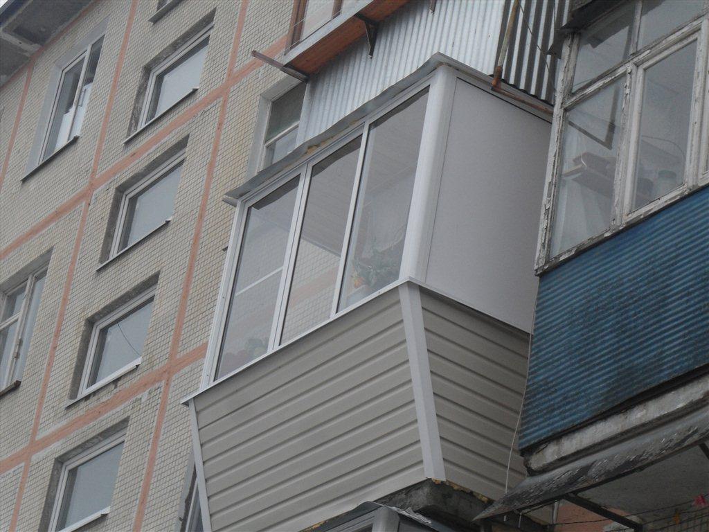 Зеленоград: алюминиевое остекление балконов и лоджий под клю.