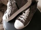 Увидеть фото Спортивная обувь кеды для девочки серебристо -серого цвета, 51665126 в Зеленограде